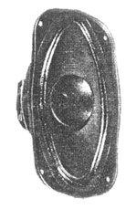 Širokopojasni zvučnik za cijevna pojačala KF 610-934, 4 OHMA, 20-50 W, 60-0000 Hz, 90 dB, Westra