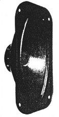Širokopojasni zvučnik ARE 5624, 4 OHMA, 6-20 W, 80-1400 Hz,88 dB, TVM
