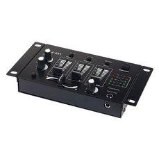 Mikser DJ-211, 3 ulaza, izlaz, 1.5V