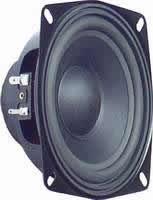 Širokopojasni zvučnik ARX 130-00/8, 8 OHMA, 25-75W, 7515000 Hz, 84 dB, TVM